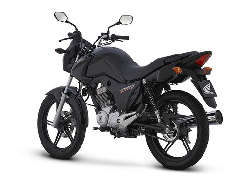 cg titan 150 negro modelo 2017 0km.