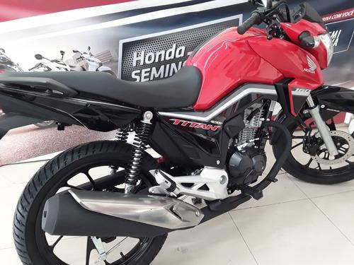 cg titan 160 flex, freio cbs, roda liga leve design inovador