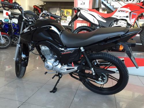 cg titan 2018 0km honda 150 roja azul nueva moto sur