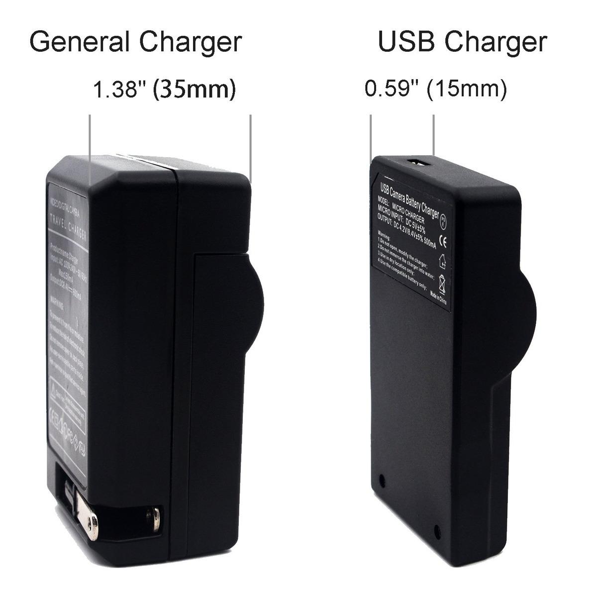 DMC-FZ2 Micro USB Cargador para Panasonic Lumix DMC-FZ1 FZ1B