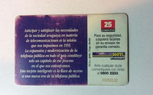 ch antel tarjeta de teléfono chip tc nº 2 difícil