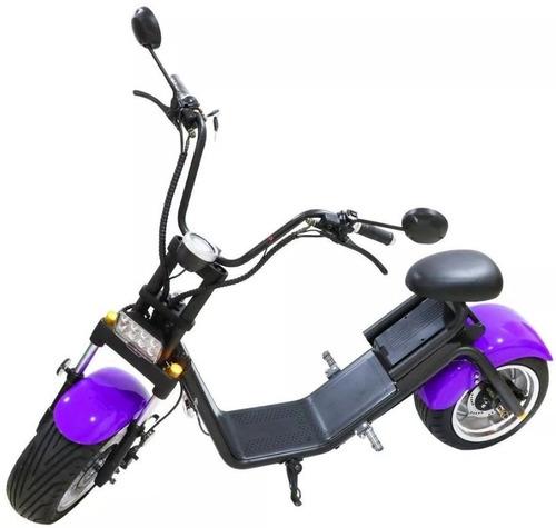 ch bicicleta motorizada elétrica chopper 1500w estilo harley