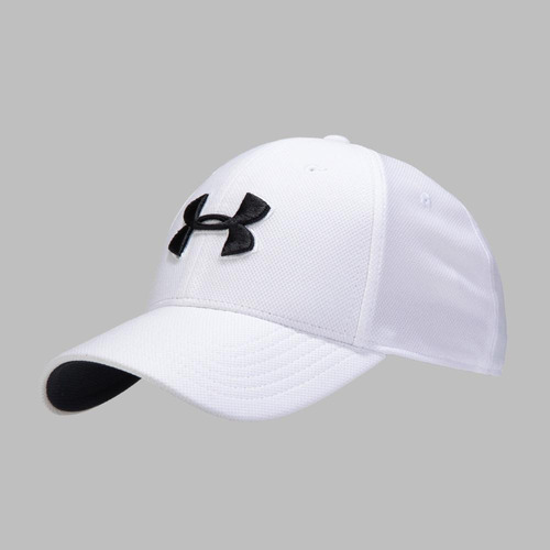 ch - blanco - gorra under armour blitzing 3.0