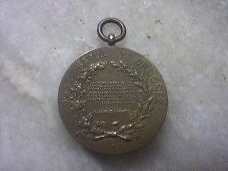 ch medalla don josé batlle cápsula de acrílico mayo de 1916