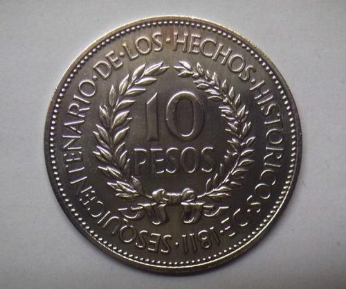ch platería criolla 150 años de 1811 moneda gaucho de plata