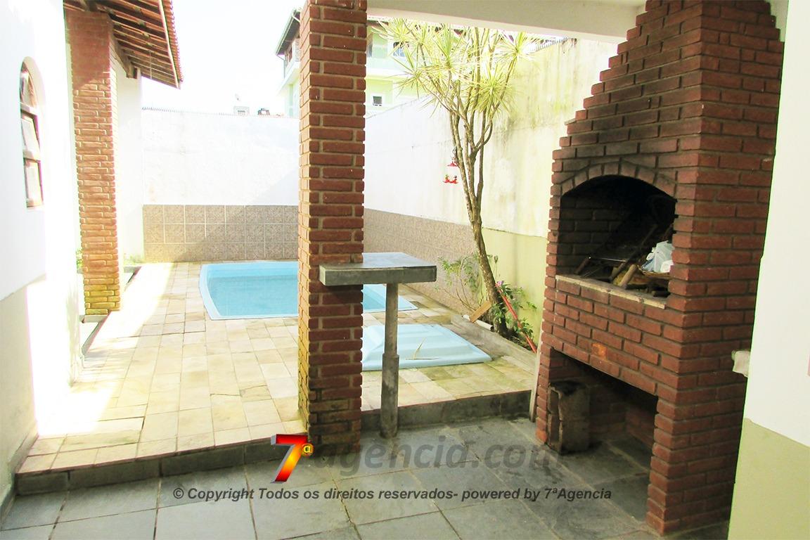 ch215  casa vista para praia 4 quartos piscina churrasqueira