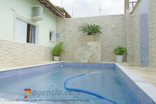 ch288 casa lado praia c/ piscina 3 quartos churrasqueira