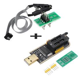 Ch341a 24 25 Serie Eeprom Flash Bios Programador Usb Soic8 P