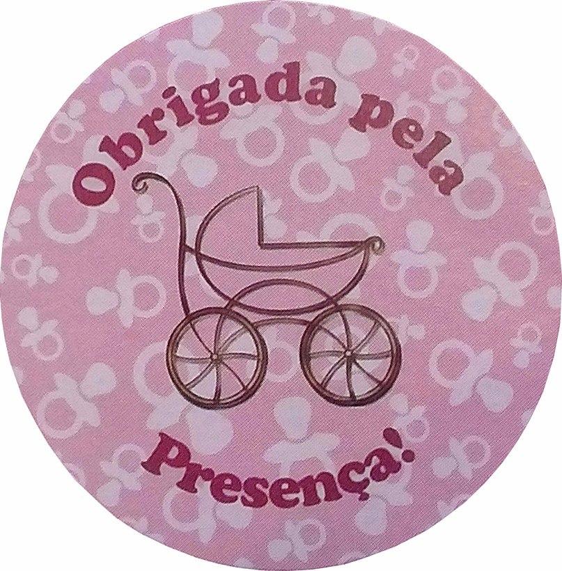 Feira Artesanal Vila Do Conde ~ 75 Lembrancinha Chá De Beb u00ea Fralda Nascimento Carrinho Rosa R$ 45,00 em Mercado L