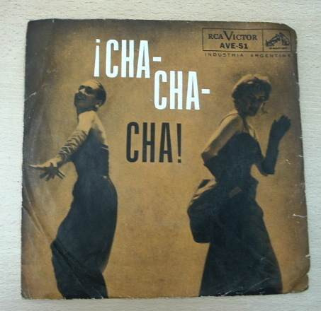 cha cha cha orq aragon tony moro vinilo simple c/ tapa arg