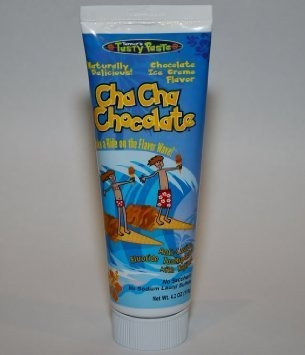 cha cha chocolate toothpaste - chocolate ice cream flavor- n