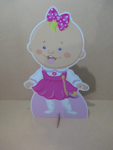 cha de bebe menina display de chão,personalizado,mdf