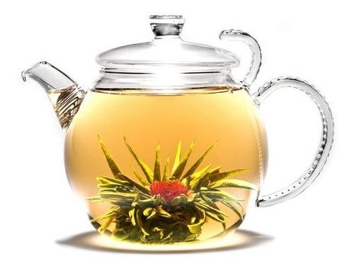 chá de flor - chás de florescência com 4 unidades sortido