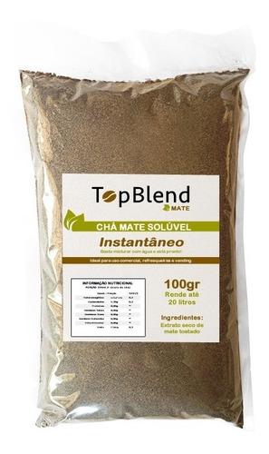 chá mate solúvel topblend puro 2 unid faz até 40 litros