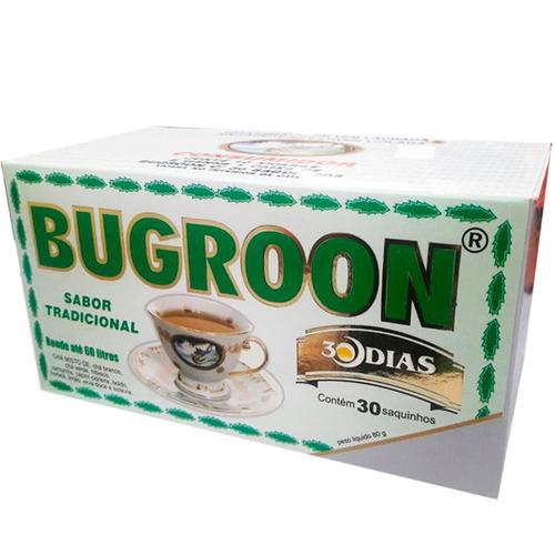 chá misto bugroon emagrecedor 80g 8 x 30 saquinhos