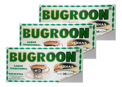 chá misto bugroon emagrecedor 80g 90 sachês - frete grátis
