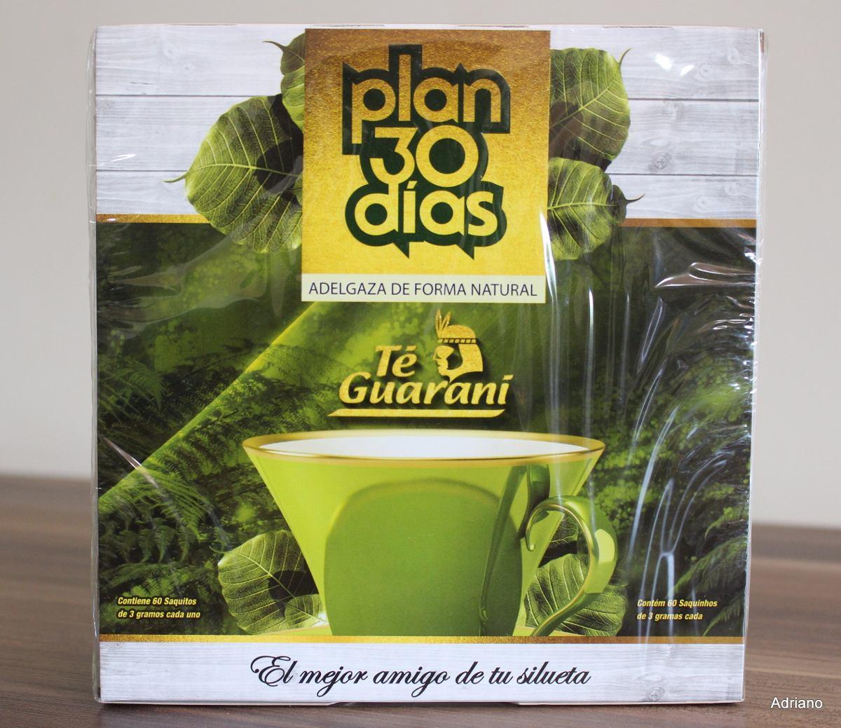Chá Plan 30 Dias Té Guaraní - R$ 35,00 em Mercado Livre