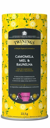 chá twinings of london lata chá