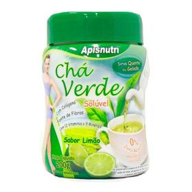 Chá Verde Com Colágeno Instantâneo Limão Apisnutri 200g