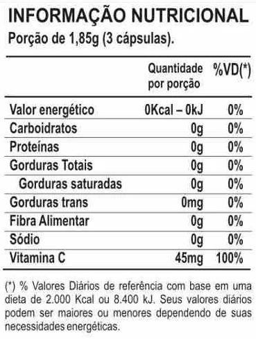 chá verde kit com 3 unidades 60 cáps 500mg