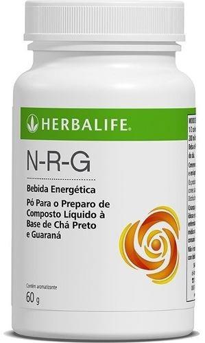 chá verde termogênico herbalife 50g + nrg 60g - frete grátis
