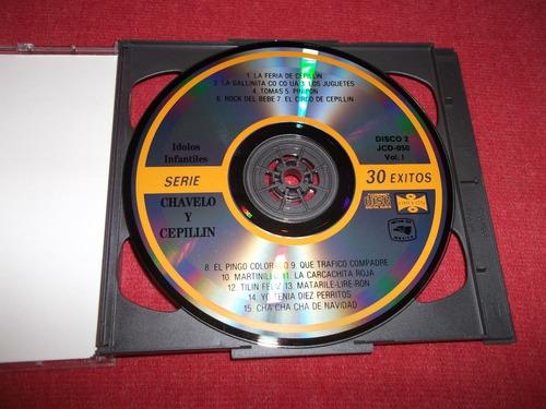 chabelo y cepillin serie 30 exitos cd doble nac mdisk