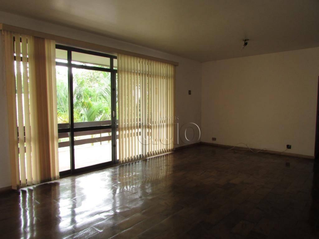 chac. nazaré - piracicaba - casa com 4 dormitórios para alugar, 554 m² por r$ 4.000/mês - - ca1941