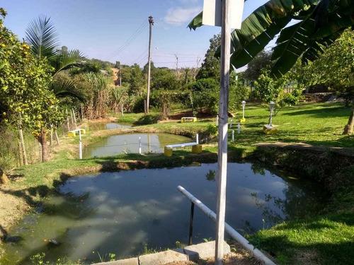 chácara 1.100 m² com lagos proximo ao centro - cód.364