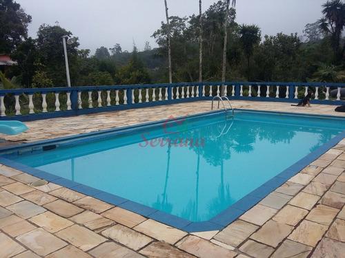 chácara 15.000 m² 2 lagos piscina em juquitiba