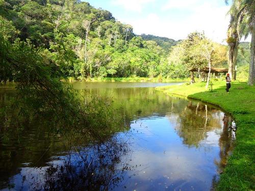 chácara / 17.000 m² / lago piscoso / 1 km da rodovia