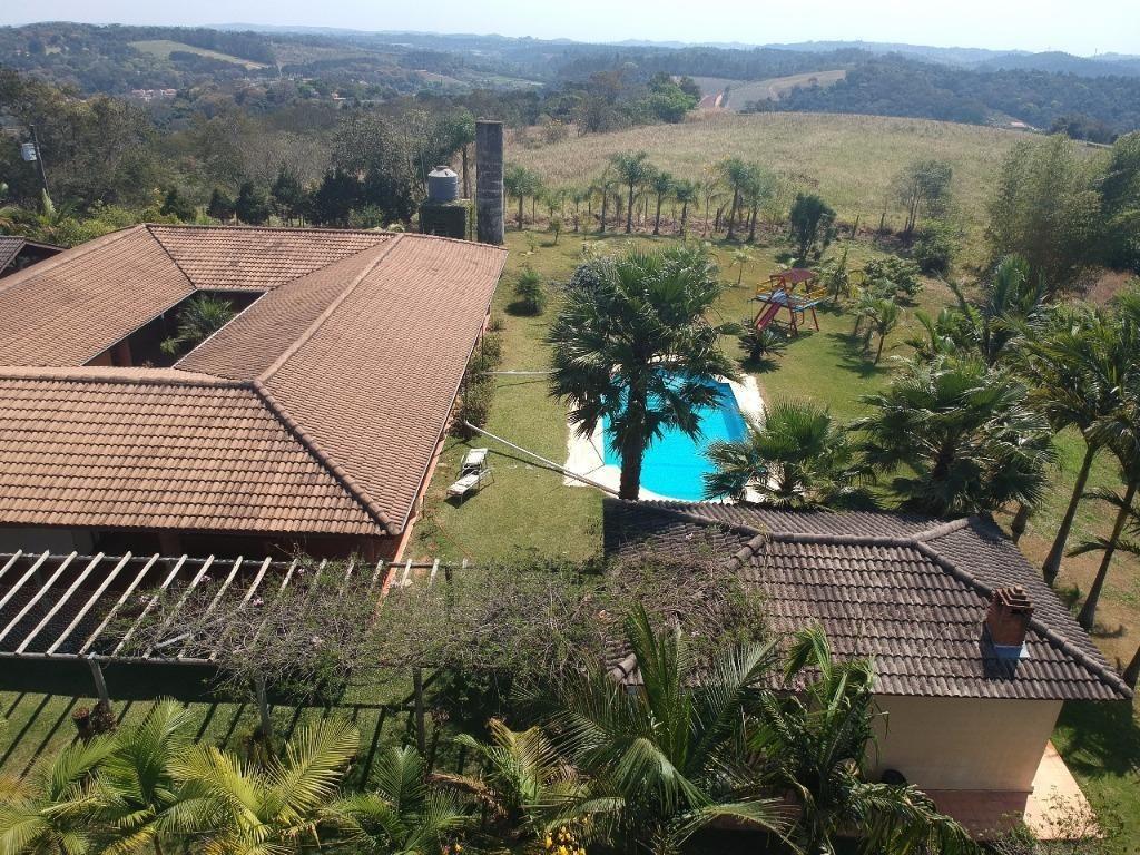 chácara  2 dormitórios à venda, 145000 m² por r$ 2.000.000 - rio acima - jundiaí/sp - ch0108