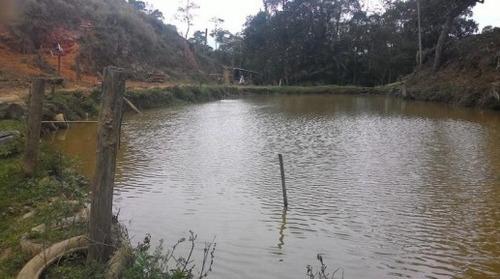 chácara / 24.200 m² / 2 lagos / nascentes / 700m da br