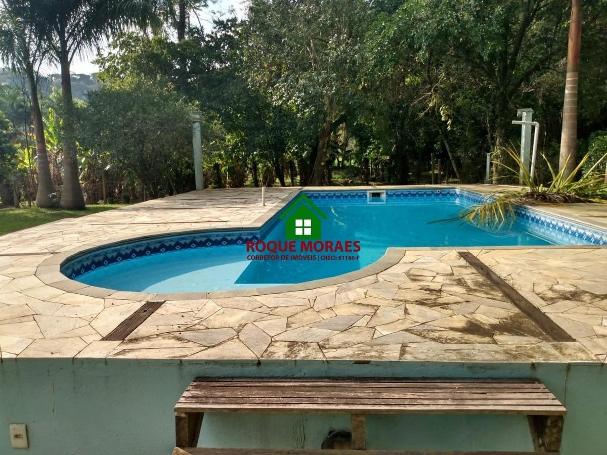 chácara 3.800m² rio navegável nascente piscina  ref0130