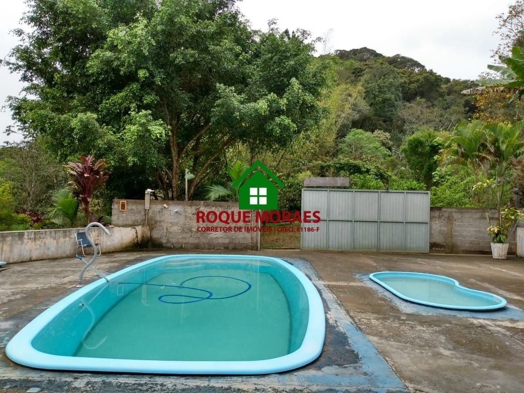 chácara 5.000m², churrasqueira, casa sede. ref: 0154