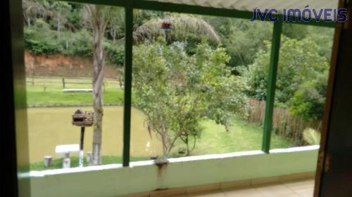 chácara a venda em guararema, guararema, 2 dormitórios, 1 suíte, 2 banheiros, 4 vagas - 10138