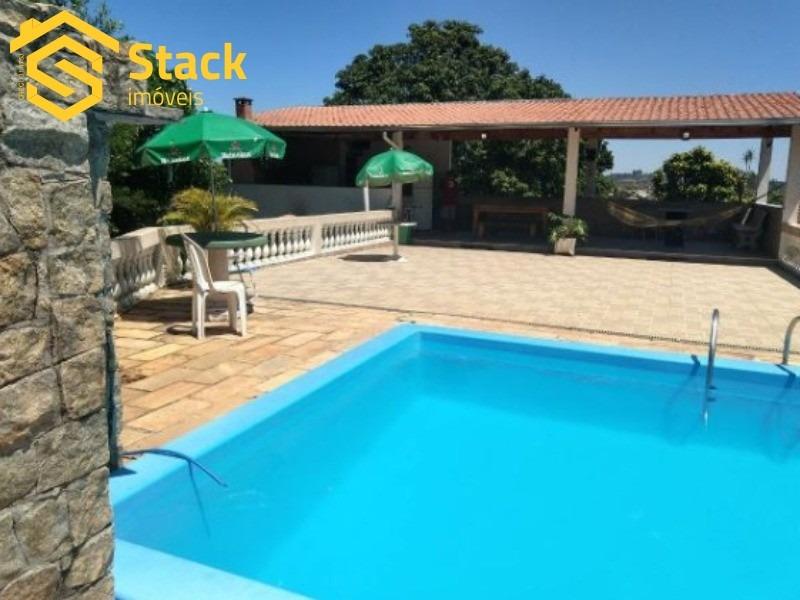 chácara a venda em jarinu no bairro maracanã com 4000 m² com 2 ótimas casas construída - ch00060