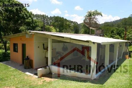 chácara a venda em mogi das cruzes, distrito de sabaúna, 4 dormitórios, 4 banheiros, 15 vagas - 077