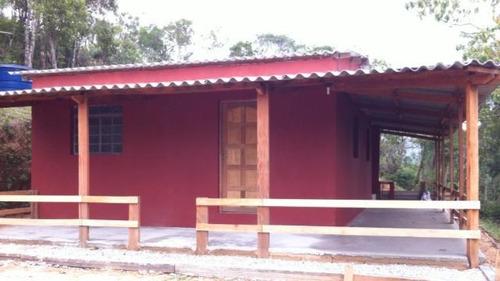 chácara a venda em mogi das cruzes, taiacupeba, 2 dormitórios, 1 banheiro - r006