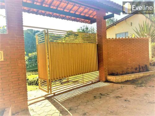 chácara a venda em suzano - lago pomar piscina - 4 dorms 7500m² - v342