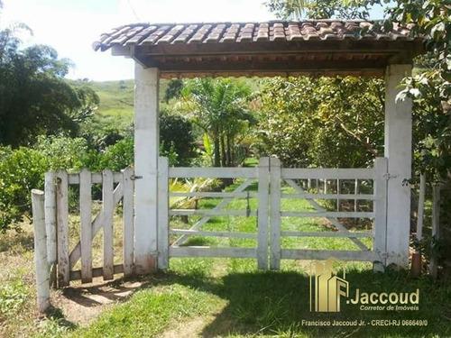 chácara a venda no bairro ponte berçó em bom jardim - rj.  - 1309-1