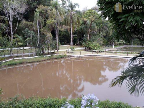 chácara a venda -taiaçupeba - residencial e comercial - v742
