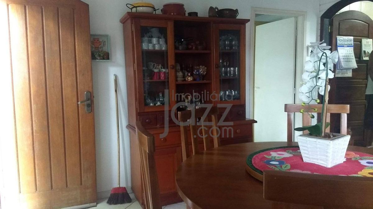 chácara aconchegante com 2 casas à venda, 1000 m² por r$ 586.000 - balneario tropical - paulínia/sp - ch0115