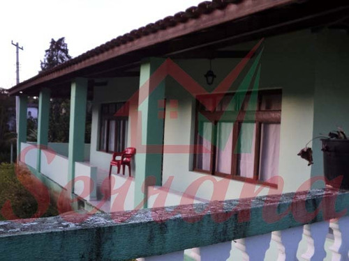 chácara área plaina com ótima casa e piscina