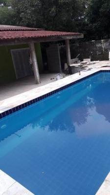 chácara c/ piscina no parque vergara! itanhaém-sp, litoral!
