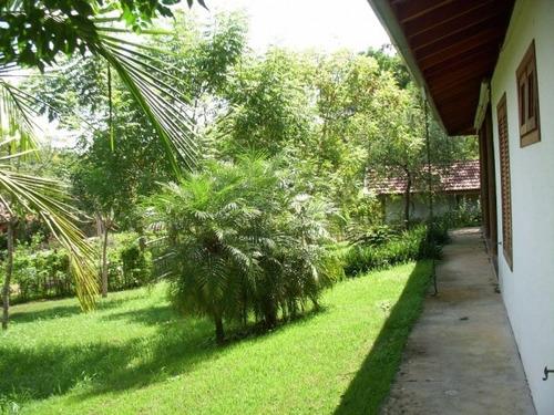 chacara - casa 3 suites - 40.000,00m² terreno - condomínio rural - ch0075