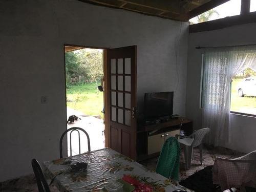 chácara cercada c/ 2 dormitórios, itanhaém-sp! ref 4663-p