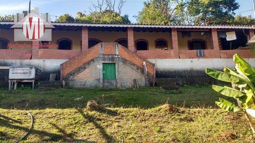 chácara com 02 dormitórios à venda, 5900 m² por r$ 350.000 - pedra bela - pedra bela/sp - ch0191