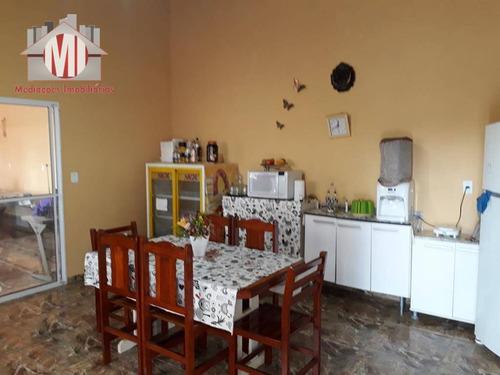 chácara com 04 dormitórios à venda, 960 m² por r$ 210.000 - pedra bela - pedra bela/sp - ch0251