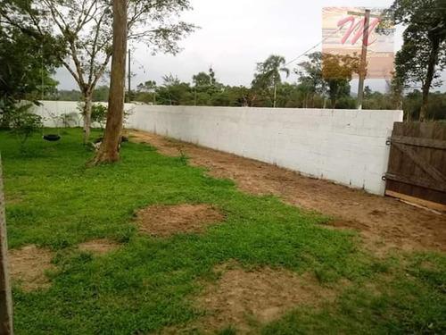 chácara com 1 dormitório à venda, 2000 m² por r$ 189.000 - parque vergara - itanhaém/sp - ch0003