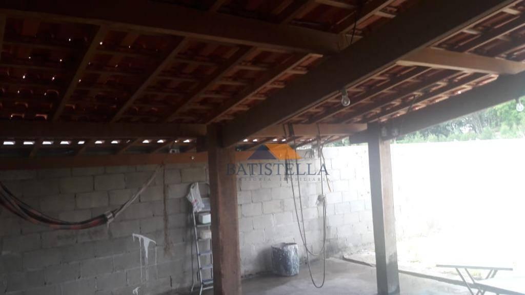 chácara com 1 dormitório à venda, 500 m² por r$ 100.000 - pinhal - limeira/sp - ch0025